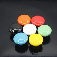 Wholesale 10PCS mm Furniture Hardware Tools Ceramic spherical Pull Cupboard Cabinet Drawer Door Handle Knob