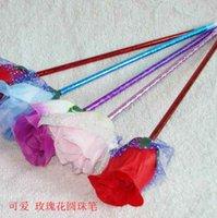 Wholesale Rose gift pen pen Korea students practical prizes the Qianqi practical creative department