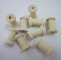Wholesale Wooden Spools x1 cm DIY tool Wooden Spool