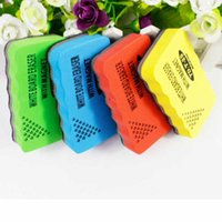 Wholesale 1PCS Colorful Magnetic Dry Wipe Whiteboard Blackboard Eraser Cleaner For Whiteboard