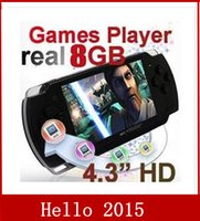 Cheap game player Best 4.3 inch LCD Screen Games Console Handhe
