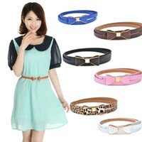 Wholesale Fashion leisure feather belts for women candy colors sweety solid thin lady dress collocation body shaping commerbund soft waist belt strap