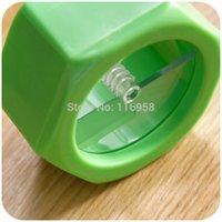 Wholesale Sale Rushed Kitchen Knives Facas Ceramica Knives Nut Spiral Shape Cucumber Slicer Beauty Is Sliced Mask Tool J0800