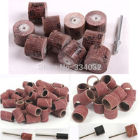Wholesale 70pcs sandpaper grinding wheel dremel tools dremel accessories rotary tool abrasive sanding paper polishing for woodworking disc A3