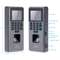 Wholesale Biometric Fingerprint Keypad Door Access Control And Time Attendance Terminal Color Screen quot TFT USB LCD S585