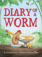 Wholesale 10pcs Multi Kids English Book Picture Story Diary of a Worm by Doreen Cronin Paperback BRAND The Caldecott Medal Books NEW
