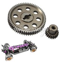 Wholesale 100 Brand New RC HSP th Differential Main Gear T Motor Gear T teeth Car Truck