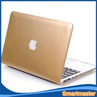 Wholesale Ultrathin Smart Shell Matte Hard Case Cover For Macbook quot quot inch Macbook Air Pro Retina Display case Rubberized Anti Glare mix color