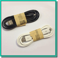 Wholesale China high imitation thicken samsung micro interface cable black and white colors with retail box