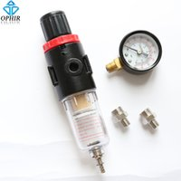air compressor water trap - OPHIR Airbrush Filter Air Pressure Regulator Oil Water Separator Trap Filter Airbrush Compressor with Adaptors_AC010
