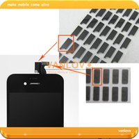 Wholesale set Shielded Sponge Pad Sticker For iPhone G S LCD and Digitizer Flex Cable