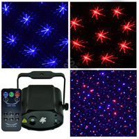 Wholesale Mini Projector Blue Red DJ Disco LED Light Stage Xmas Party Laser Lighting Show