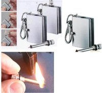 Wholesale Hot Stainless steel Flints Survival Emergency Fire Starter Flint Metal Match for Camping Survival Cooking Lighter Hiking