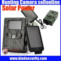 Wholesale Top quality Solar charger CE RoHS approval Solar power supply for MMS GPRS hunting camera