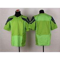 blank football jerseys - Blank Green Elite Football Jerseys Hot Sale Top Selling American Football Wears Cheap Men Players Football Gear Comfortable Sports Jerseys