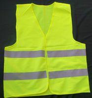 venda por atacado fábrica de roupas direta-Venda direta da fábrica! refletivo colete de segurança casaco de Saneamento colete de segurança de tráfego de advertência veste roupas Frete grátis