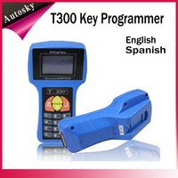Wholesale 2016 Latest Version V15 T code T300 Auto Key Programmer T Auto Key Maker Spanish English T300 Transponder Key Programmer T