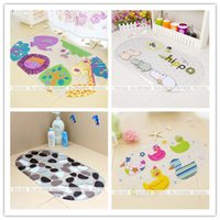 Wholesale 2015NewChildren s cartoon shell bath mat bath mat bath mat bathroom shower sucker