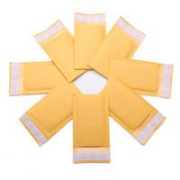 Wholesale Hot Sale mm mm Bubble Envelope Yellow Color Kraft Paper Bag Mailers Envelope order lt no track