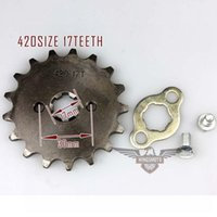 best motorcycle sprockets - Best Sale Motorcycle ATV Dirtbike Front Sprocket T mm Size Teeth Drop Shipping