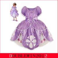 Cheap TuTu frozen dress Best Summer Straight anna dress