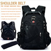 Wholesale 2015 Brand swisswin backpacks swiss gear laptop bag sports bags swiss army knife hiking outdoor travel backpack notebook computer backpack