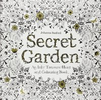 coloring book - Secret Garden An Inky Treasure Hunt and Coloring Book Adult Children Relax Graffiti Painting Book Color Pencil Diary Book SK371 Promotion
