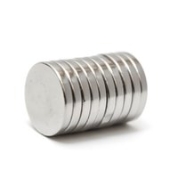 Wholesale 10pcs x mm N35 Small Disc Round Super Strong Cylinder Rare Earth Neodymium Magnets order lt no track