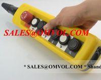 Wholesale Waterproof hoist push button switch crane switch pendant controller