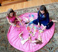 big play mat - New Large Portable Kids Toy Storage Bag and Play Mat Lego Toys Organizer Bin Box