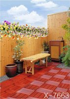 bamboo flooring photos - 300cm cmRed flowers bamboo flooring Wall backgrounds for photo studiophotography backdrops