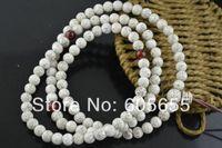 Cheap 6mm Bodhi Seed of Herba Fibraureae Round Beads Bracelets Fashion Jewelry Mala Prayer Wood Beaded Bracelet 5 pc per lot Free ship