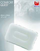 bestway inflatable - Bestway at home camping flock inflatable pillow cm two color assorted