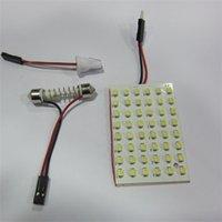 Wholesale New SMD LED White Car Reading Lamp Festoon Adapters