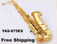 Wholesale caixinha de musica New High quality Brand canne YAS EX Saxophone musical instruments professional E flat saxophone sax alto