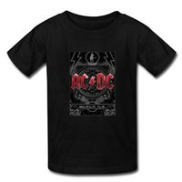 ac dc black ice - Custom AC DC Band Black ice Printed T Shirts Mens Student Cotton Short Sleeve Summer Male Man T Shirts M XXXL