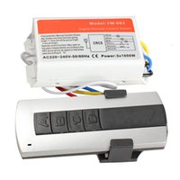 Wholesale High Quality Channel Wireless Remote Control Digital Remote Control Switch Lightswitch