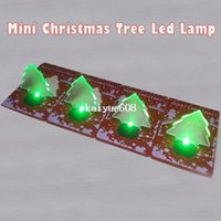 lights tree ornaments - 20pcs Merry Christmas Gift Christmas Tree LED Lamp Christmas Light For Promotion
