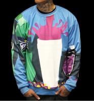 bar blue prints - Funny Sportswear Clothing jacket women men hoodies Bar Cup Sprite Drink cookie print d sweatshirt size S XXL