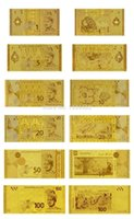 bathroom collection sets - One is Full Set of Malaysia Gold Banknote1 Rm Present For Business Or Collection