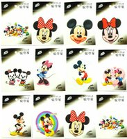 Wholesale New Hot sale Mickey Minnie mix the Biggest iron on Patches iron on Transfers birthday gift