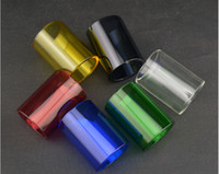 Wholesale 2015 NEWEST Replacement pyrex colorful glass tube for kanger subtank atomizer subtank mini glass tube subtank nano glass TUBE