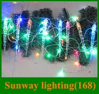 beautiful hours - Icicle lights christmas lights LED string M icicles set m icicles set beautiful landscape for christmas decoration hours