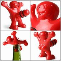 Wholesale Happy Man Guy Wine Bottle Stopper Opener CYB33