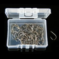 Wholesale 100pcs box NO High Carbon Steel Fishhooks Non barb Hooks Fishing Hook Pesca Fishing Tackle Carp Fishing Accessories Binnel Online