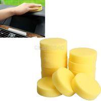 Wholesale 12pcs Polish Wax Round Foam Sponges Applicator Pads for Clean Car Glass gib