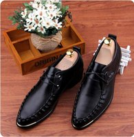 Cheap men shoes leather shoes Best Business shoes