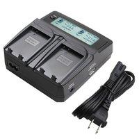 Wholesale EN EL14 EN EL14a ENEL14 EL14a Battery Camera Dual Charger For Nikon P7700 P7100 P7000 D5500 D5300 D5200 D3200 D3300 D5100 D3100