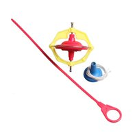Wholesale Amazing Multi functional Manual Whirlwind LED Music Gyroscope Peg Top A Nice and Safe Toy for Children Via DHL