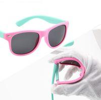 Wholesale Flexible Kids Eyeglasses Frame TR90 Optical Eye Glasses With Lens Ultra Light Unbreakable Safe Teens Eyeglasses Spectacle Frame